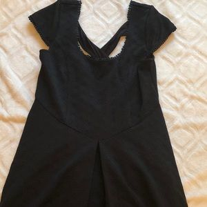 Women's Free People Fit And Flare Cross Back Dress
